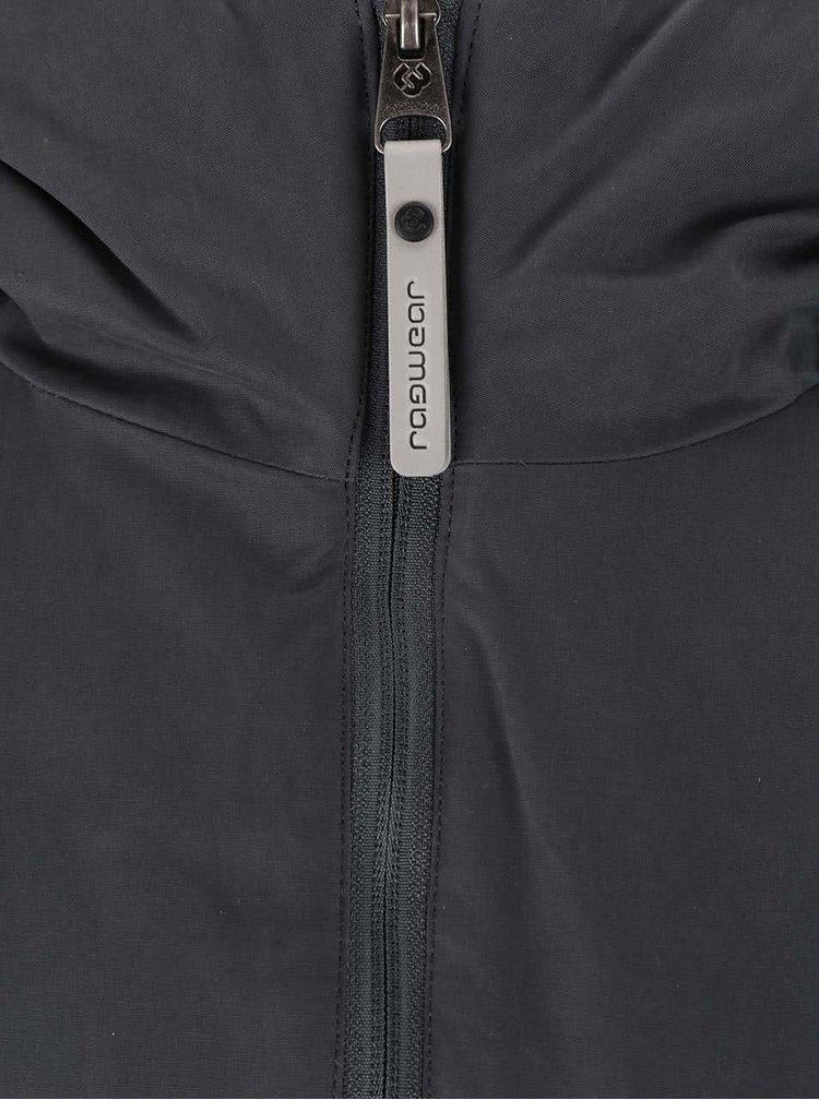 Sivo-horčicová pánska bunda Ragwear Nugget