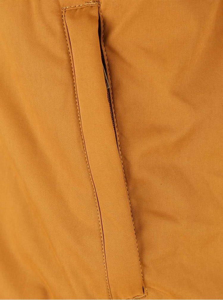 Horčicová pánska bunda Ragwear Olsen