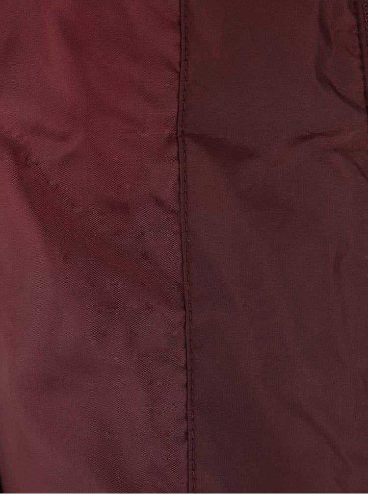 Jachetă matlasatp vișinie VERO MODA You