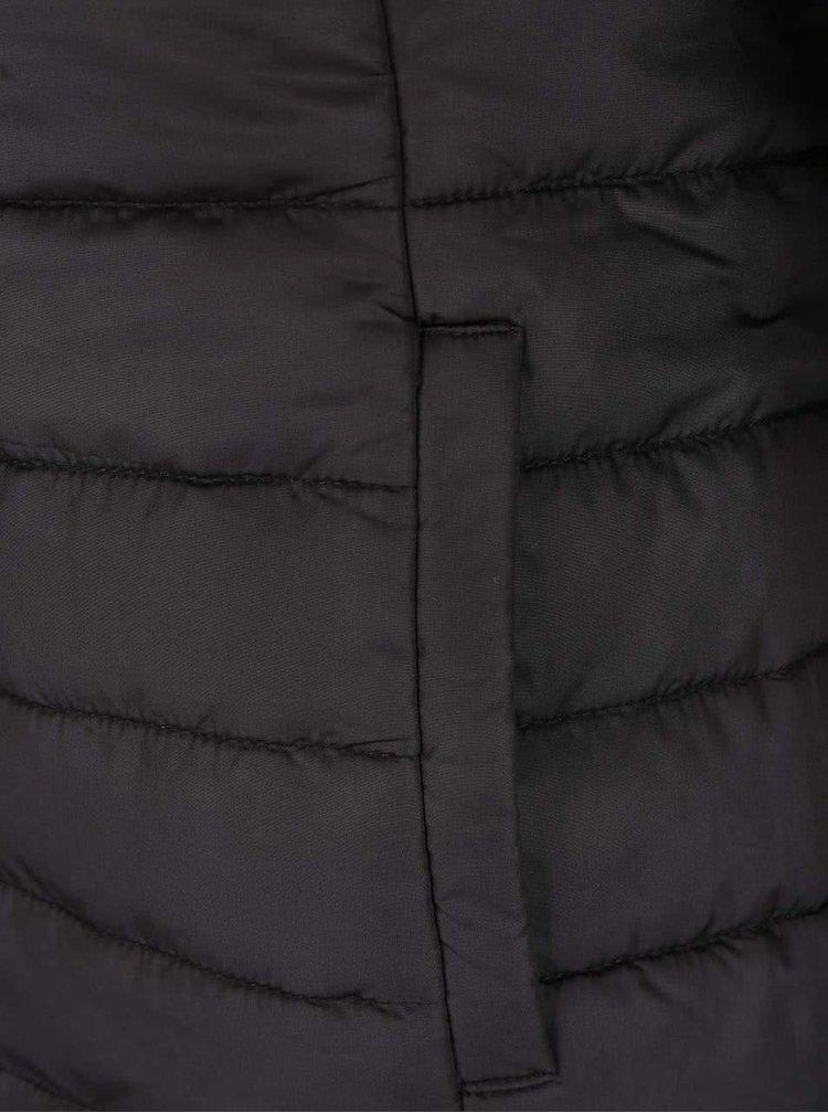 Jachetă neagră ONLY Marit cu glugă