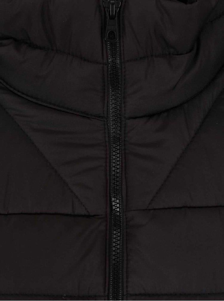 Jachetă neagră ONLY Marit matlasată