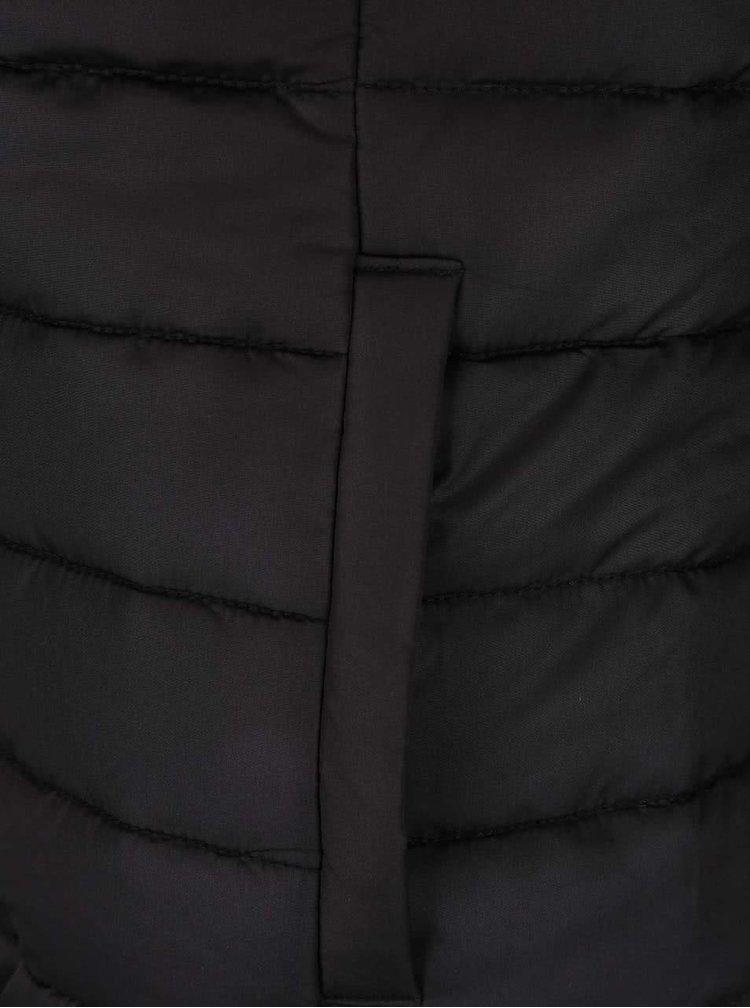 Jacheta neagra ONLY Marit matlasata