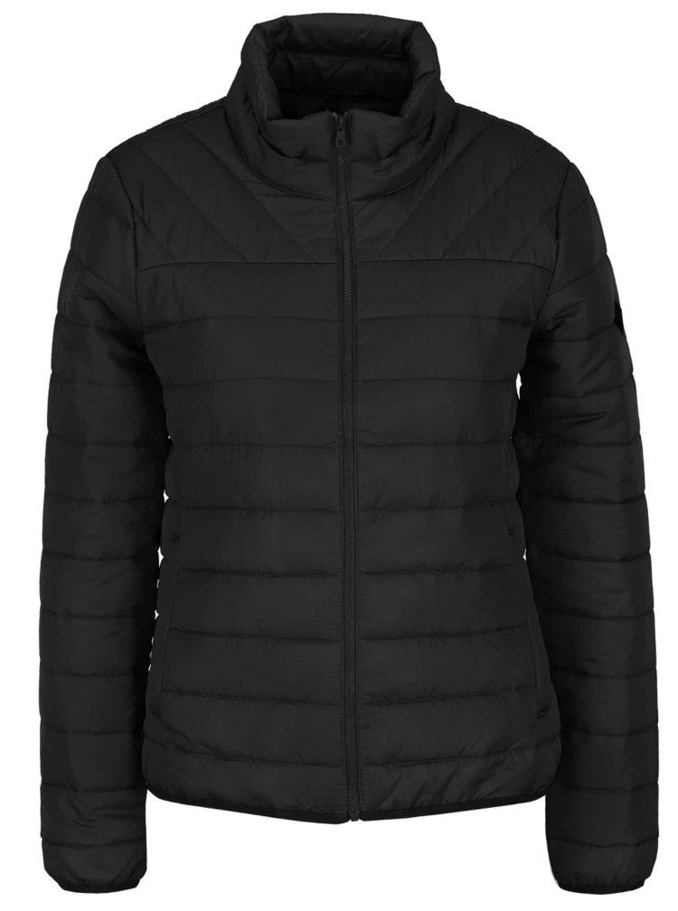 Černá prošívaná bunda ONLY Marit