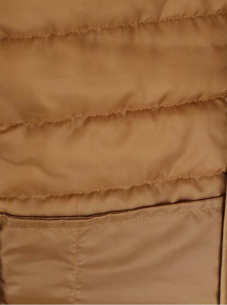 Jachetă galben muștar ONLY Marit matlasată