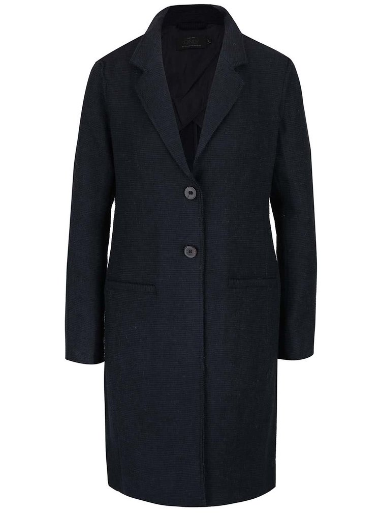 Tmavomodrý ľahší kabát ONLY Ella