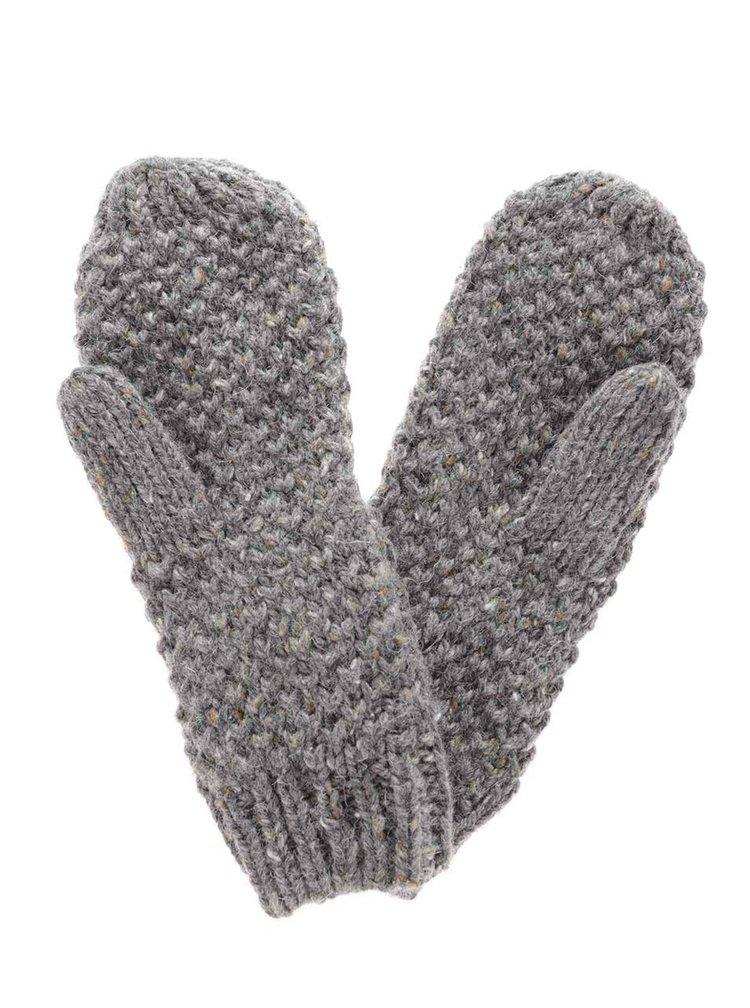 Sivé rukavice ONLY Sherry