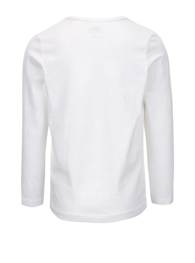 Bluză albă cu imprimeu name it Nitjack