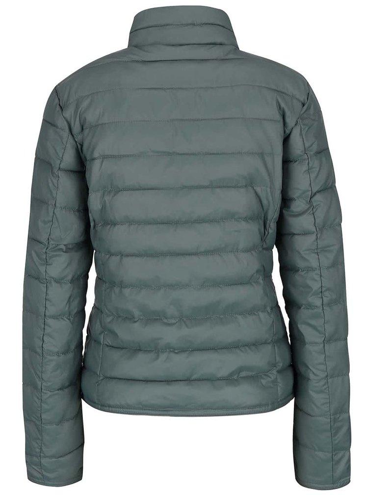 Jachetă gri camuflaj ONLY Tahoe matlasată