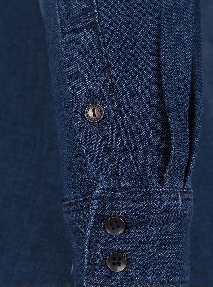 Tmavě modrá džínová košile ONLY Rock it