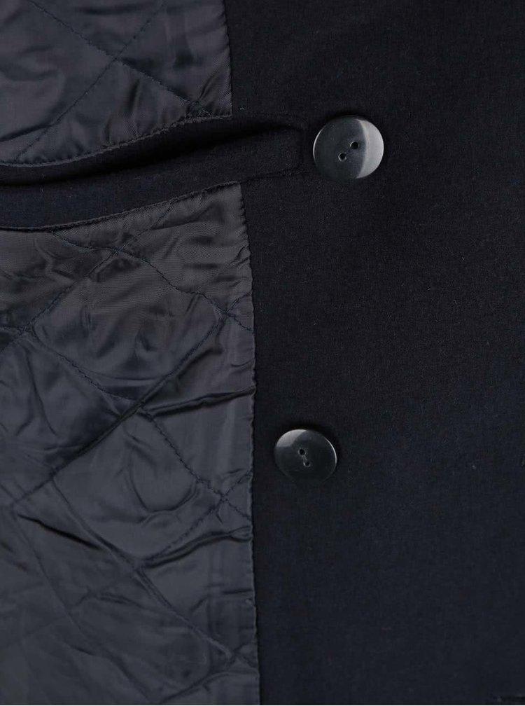 Tmavě modrý kabát ONLY & SONS Jormun