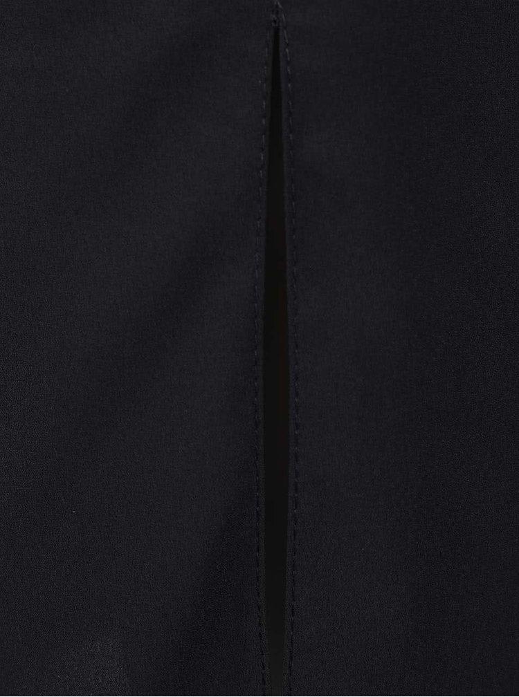 Rochie neagră Miss Selfridge cu detalii din dantelă