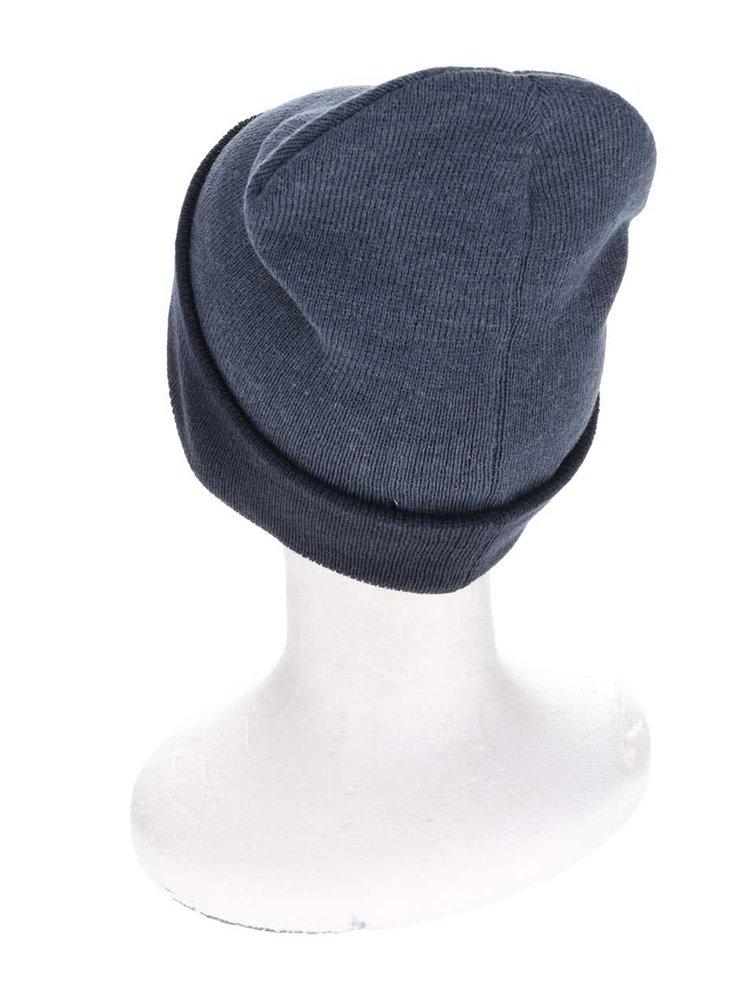 Tmavomodrá čiapka s tmavým lemom Blend