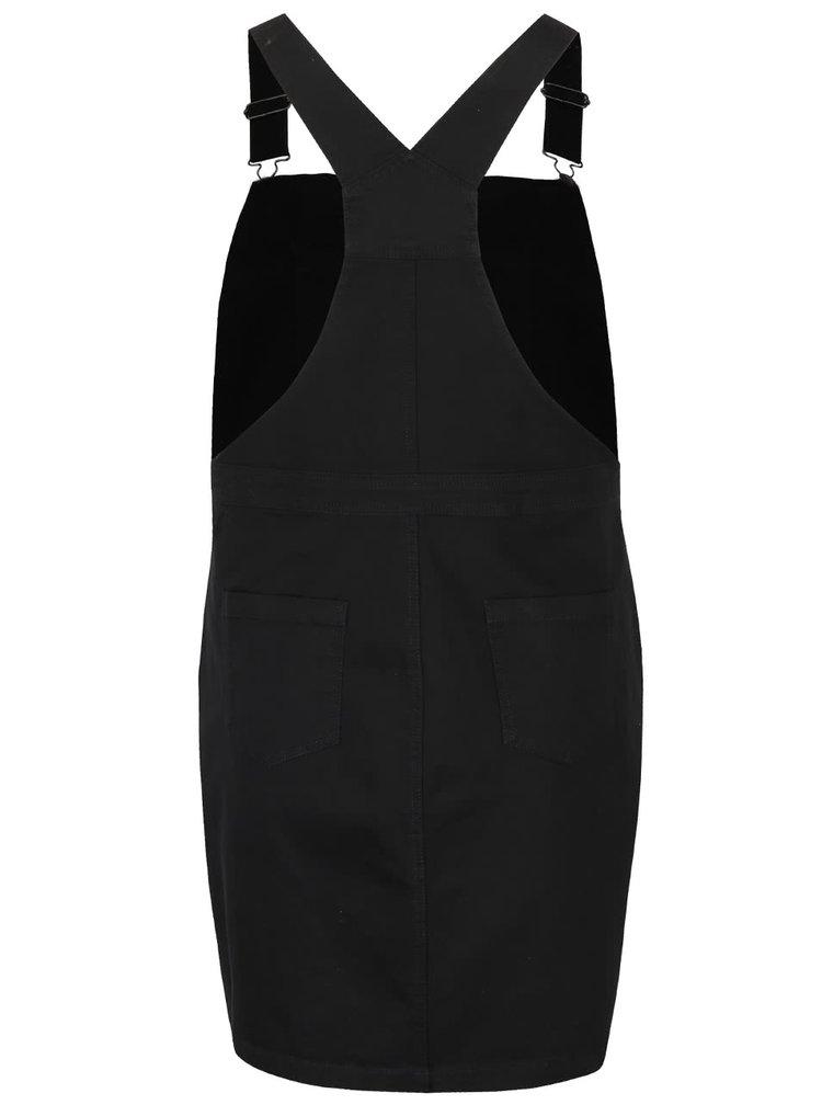 Černé šaty s laclem Dorothy Perkins Curve