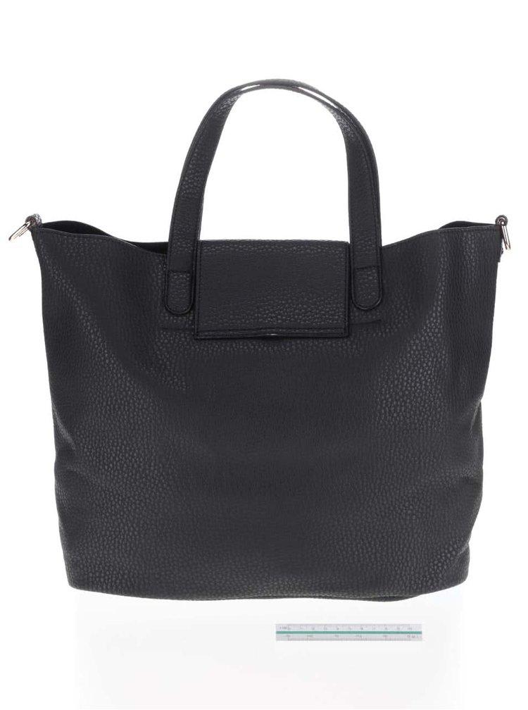 Čierna väčšia kabelka Miss Selfridge