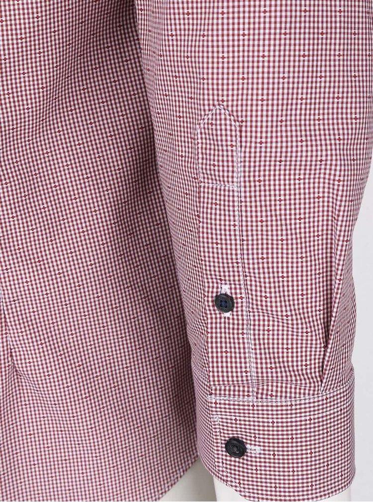 Cămașă roșie Burton Menswear London cu model discret