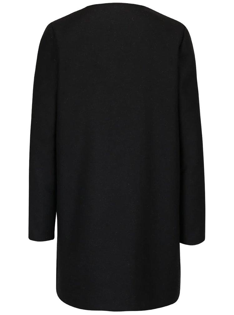 Čierny kabát Dorothy Perkins