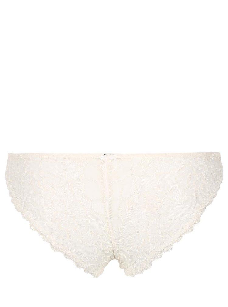Krémové kalhotky ICÔNE Carla