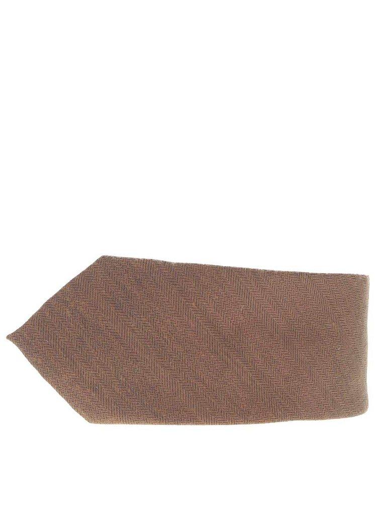 Cravată maro Burton Menswear London