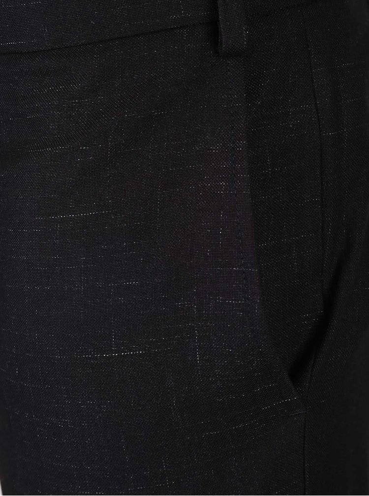 Pantaloni negri Burton Menswear London cu model discret