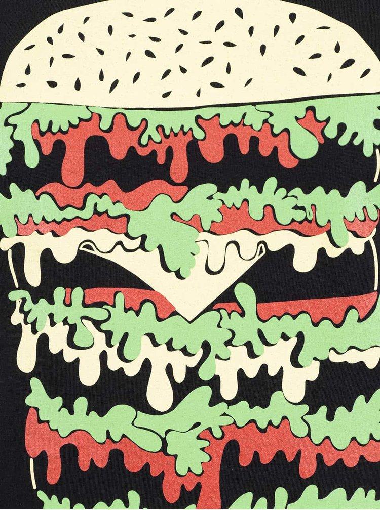 Černé dámské tričko ZOOT Original Hamburger
