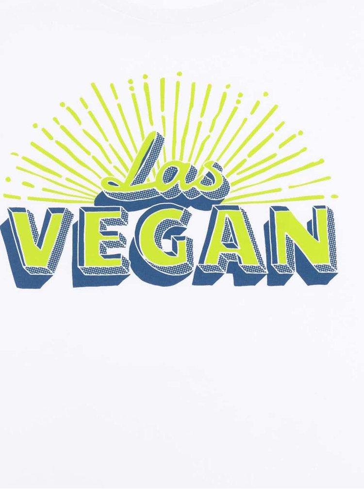 Tricou alb ZOOT Original Las Vegan din bumbac