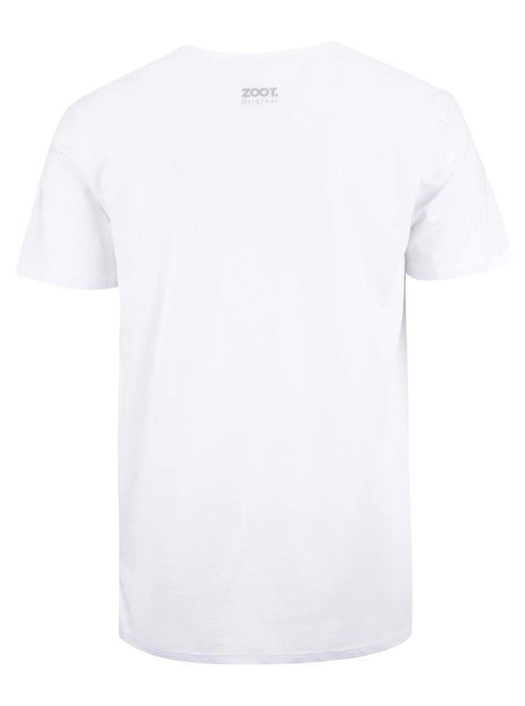 Bílé pánské triko ZOOT Originál Tofu vole