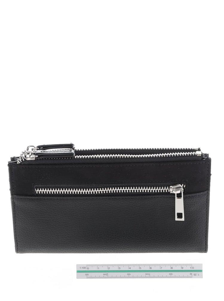 Černá koženková peněženka Dorothy Perkins