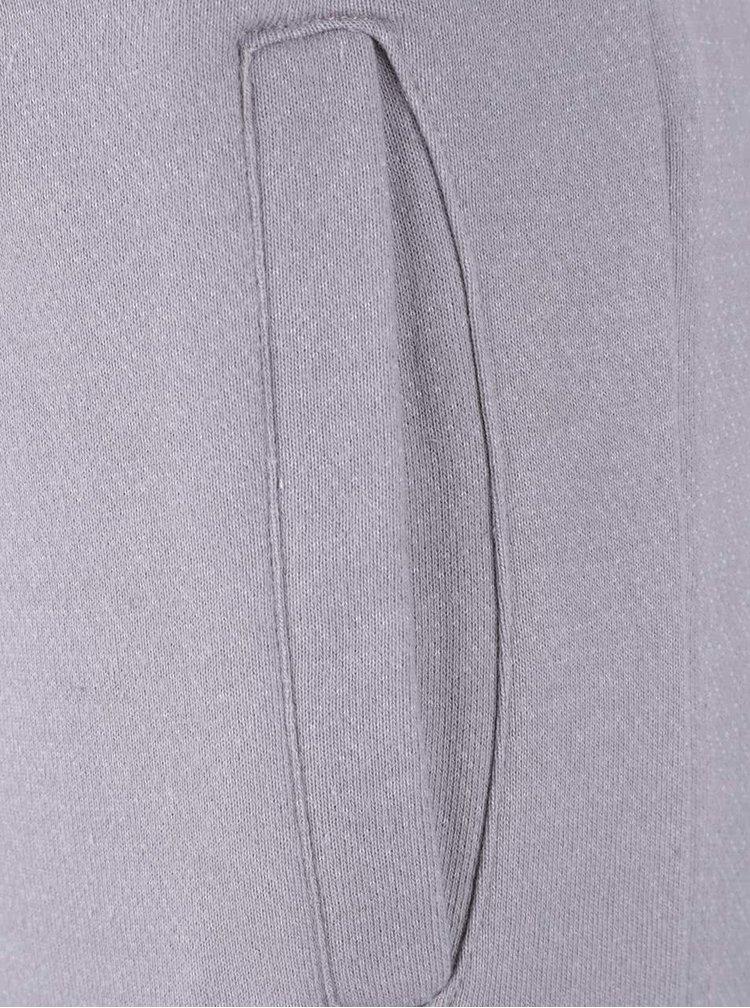 Šedé teplákové kalhoty Blend