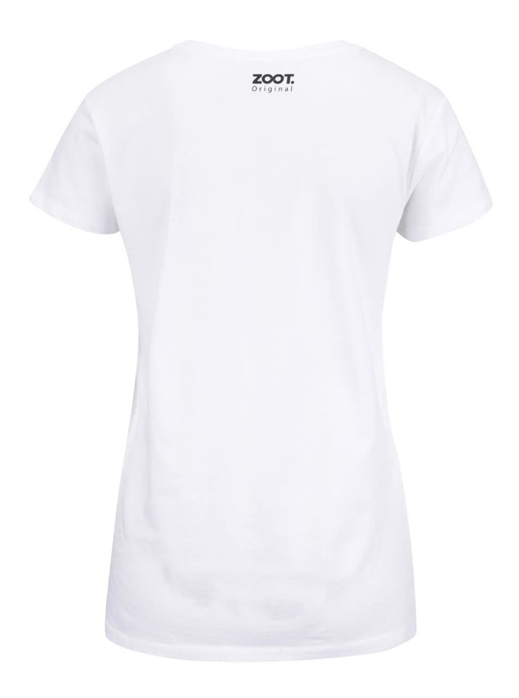 Bílé dámské tričko ZOOT Original Do Nothing