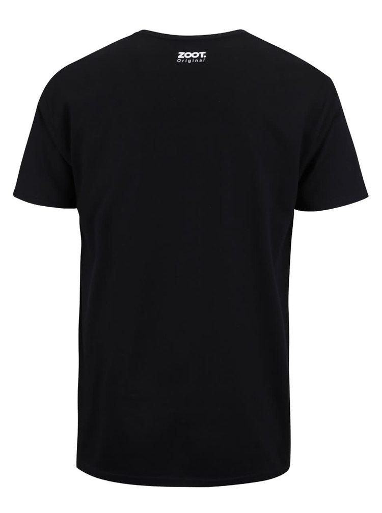 Černé pánské triko ZOOT Originál Houbař