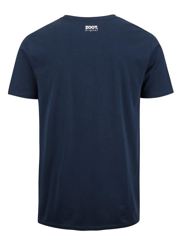 Tmavě modré pánské triko ZOOT Originál Last Scout