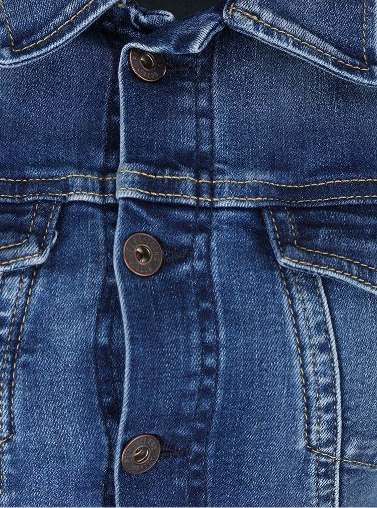 Modrá dámská džínová bunda Pepe Jeans