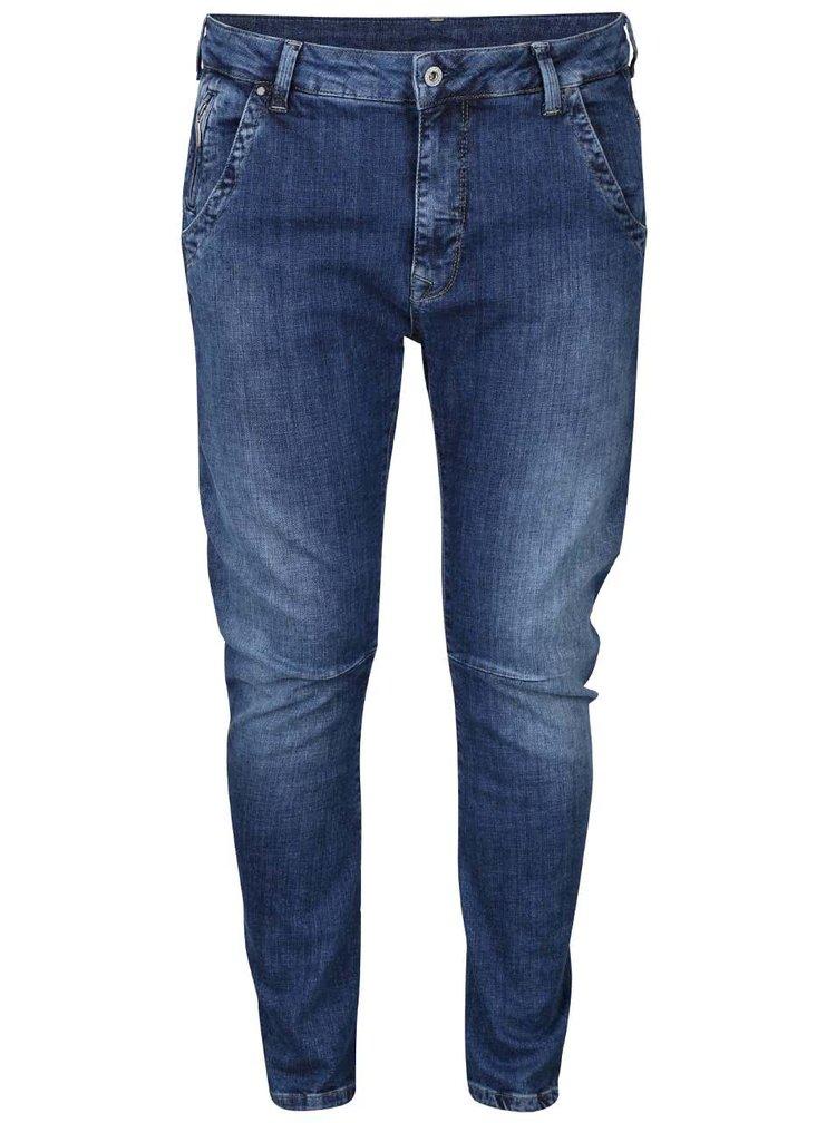 Modré dámske slim rifle Pepe Jeans