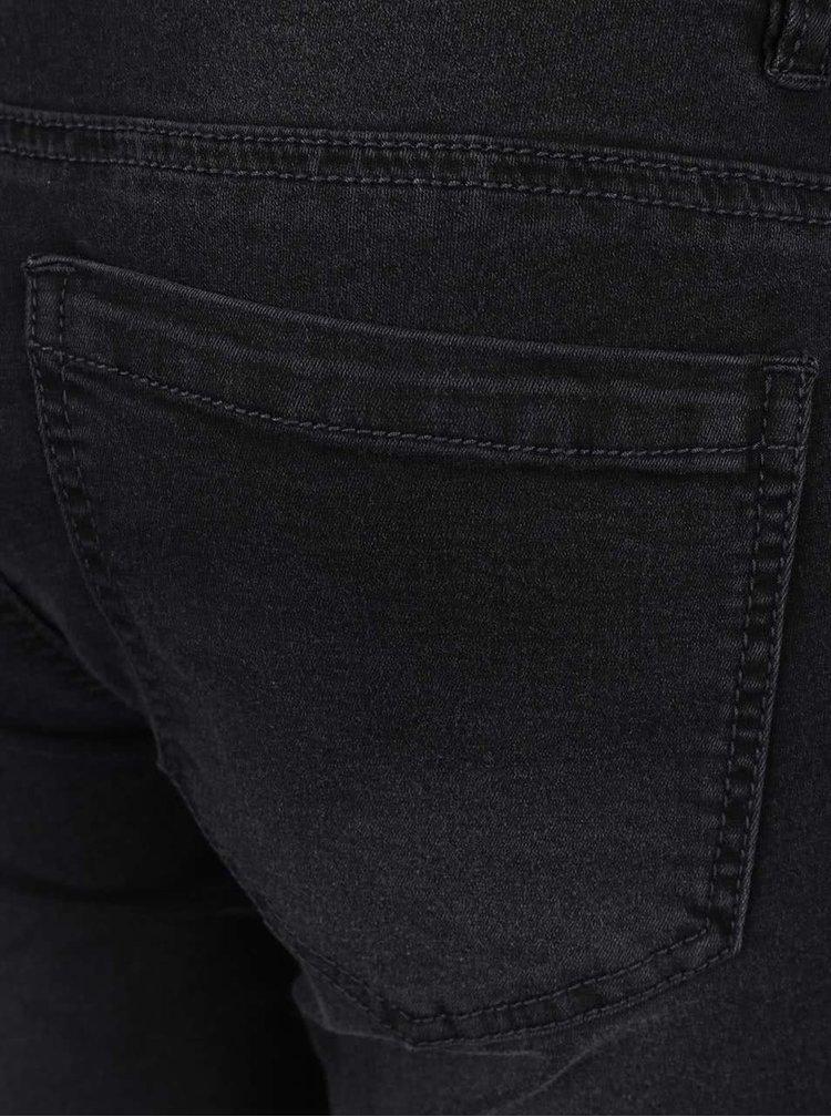 Tmavě šedé těhotenské džíny Mama.licious Lella
