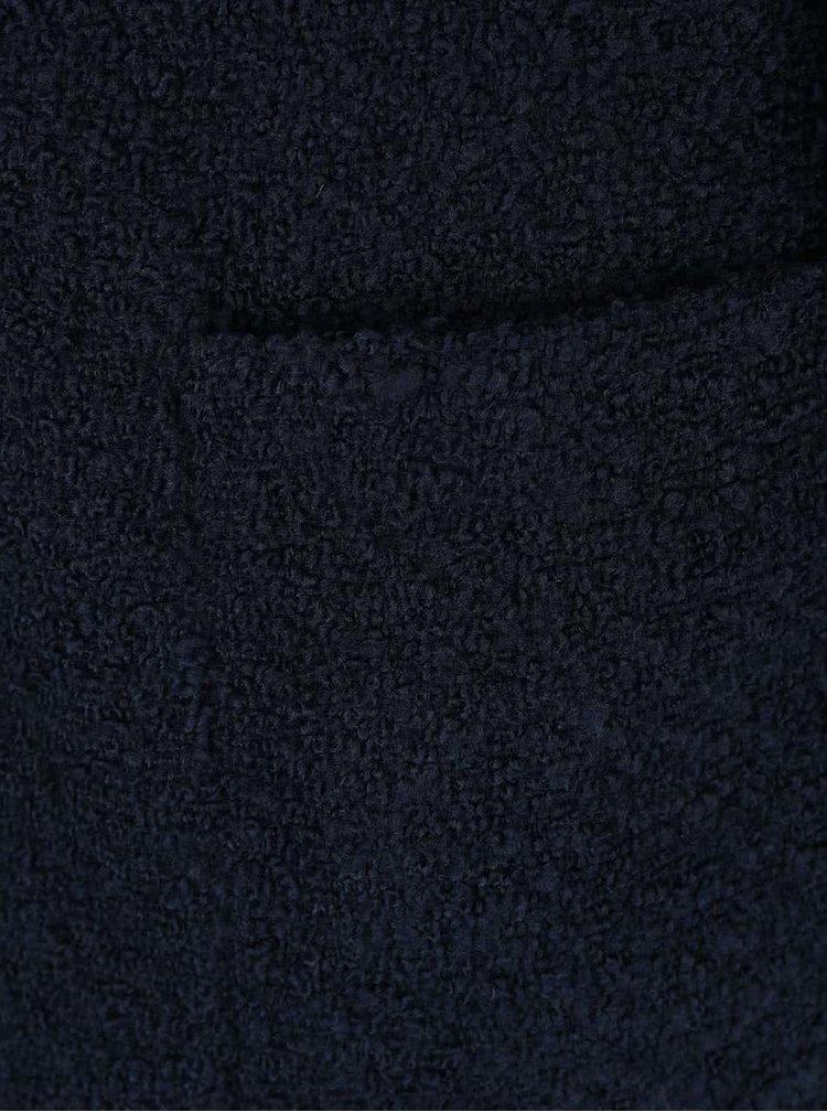 Palton bleumarin VERO MODA Trudy cu buzunare mari