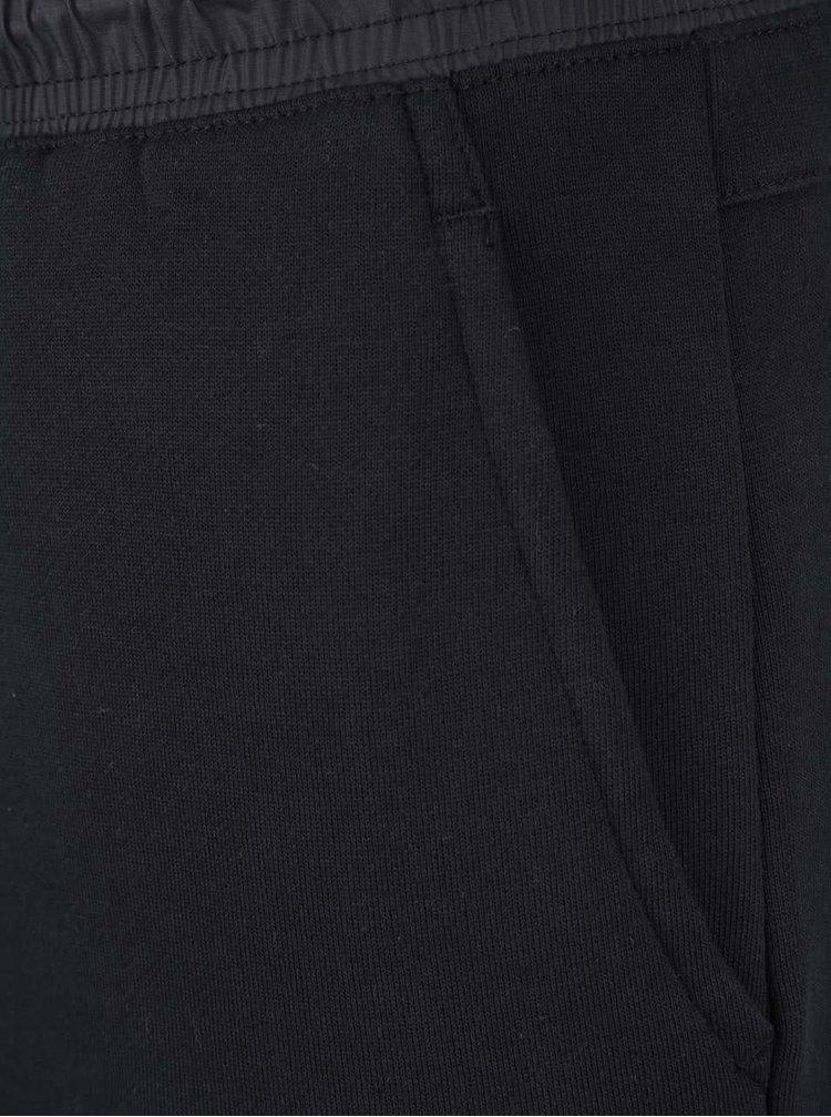 Čierne pánske teplákové kraťasy Nike Modern