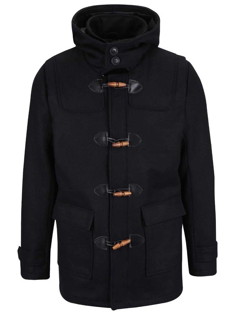 Černý kabát s kapucí ONLY & SONS Orville