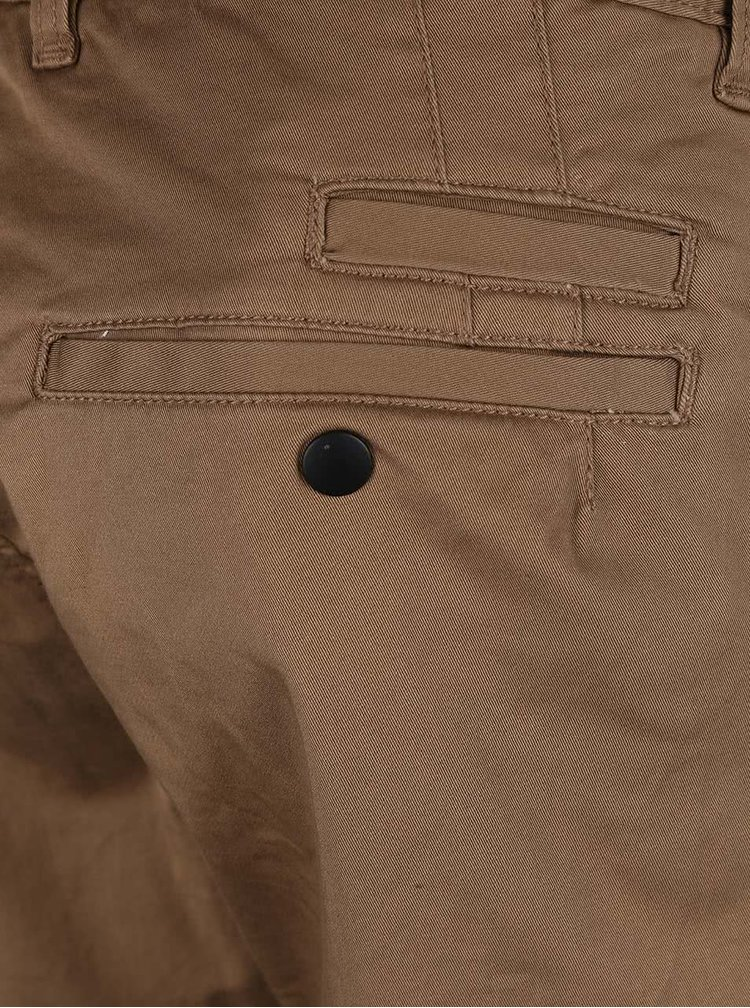 Pantaloni chino maro Selected Homme Two Store