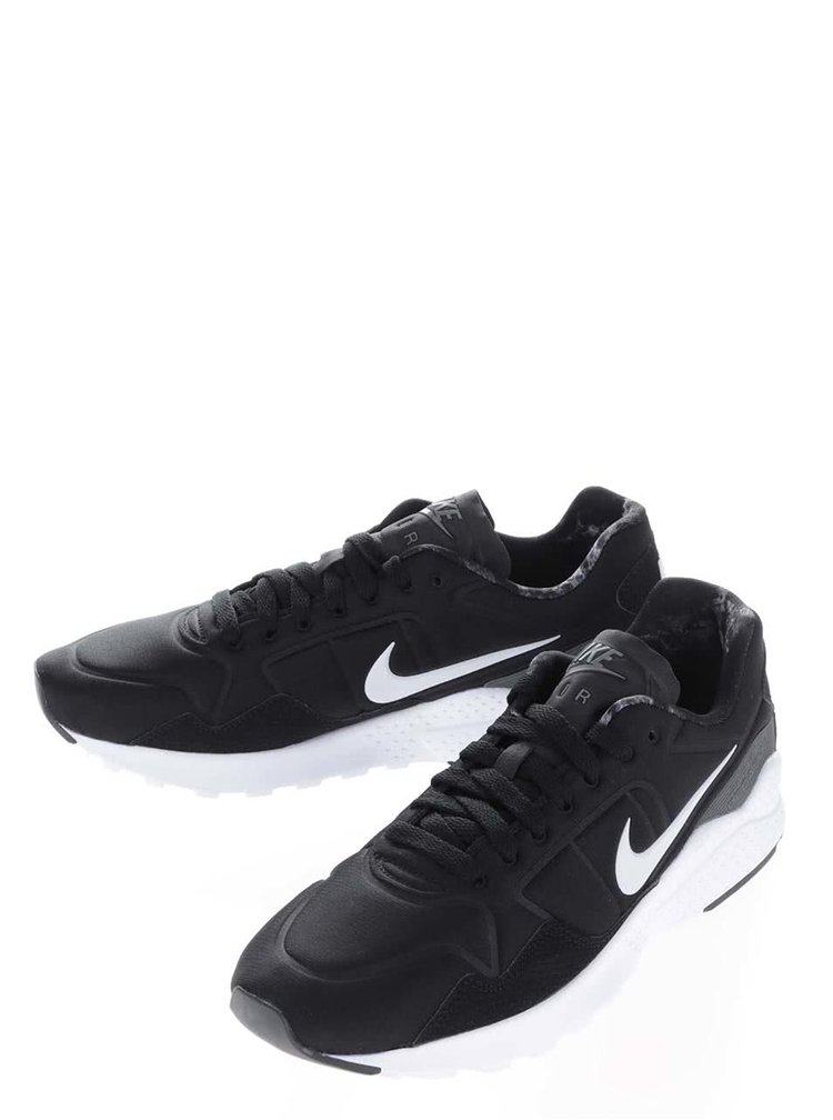 Čierne pánske tenisky s detailmi Nike Zoom Pegasus