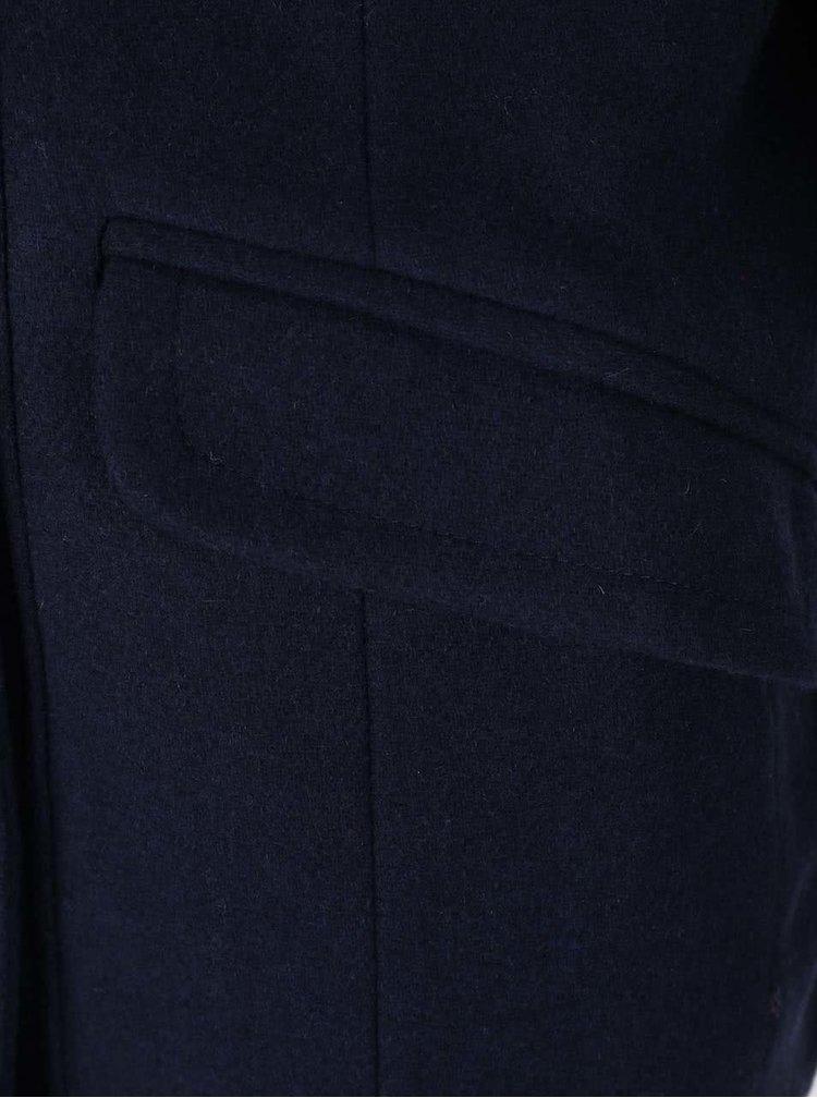 Palton bleumarin VERO MODA Sweety cu detalii aurii