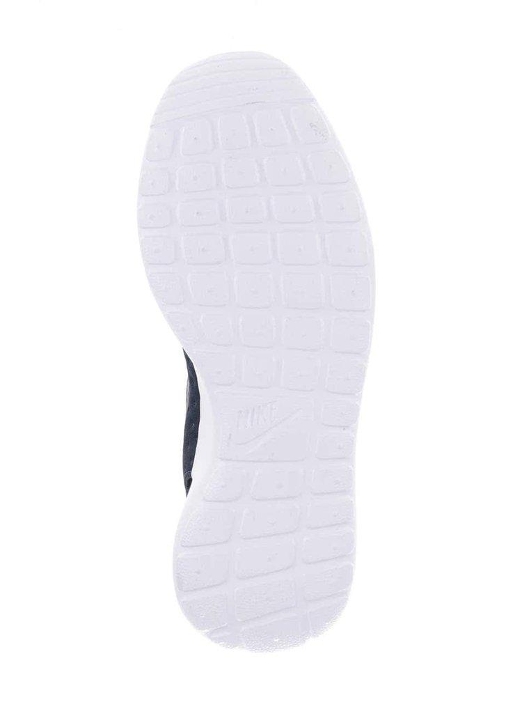 Modré pánské perforované tenisky Nike Roshe One