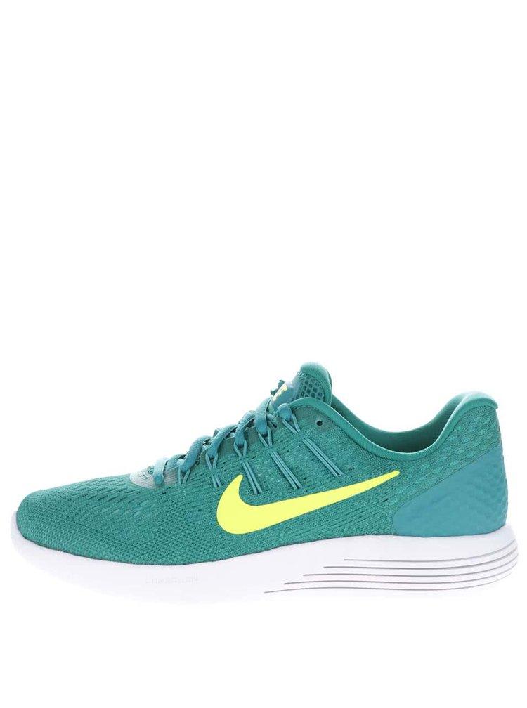 Zelené perforované dámské tenisky Nike Lunarglide 8