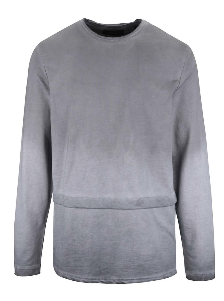 Bluza gri inchis ONLY & SONS Frodo cu aspect prespalat