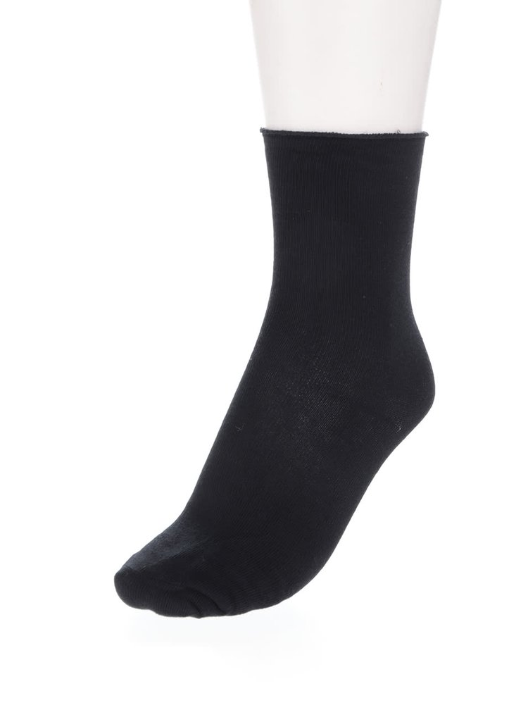 Set negru de șosete - 3 perechi VERO MODA Socks Basic