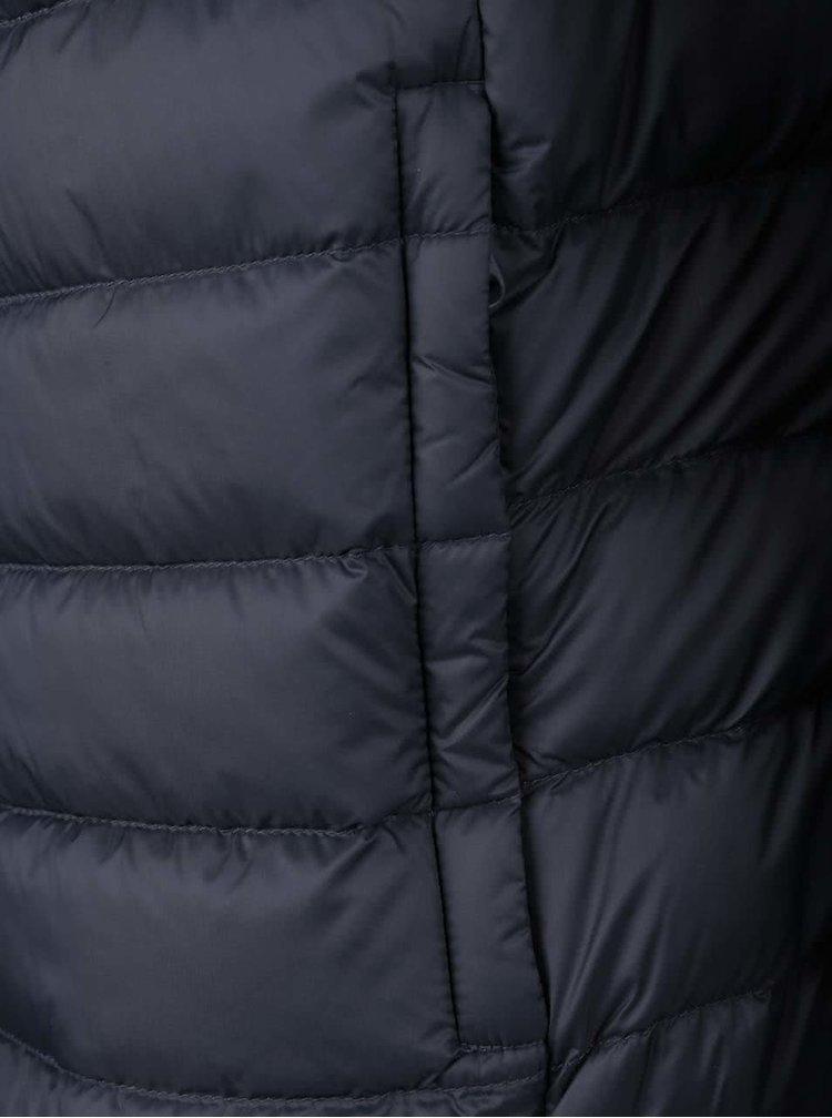 Tmavě modrá pánská prošívaná bunda Geox Down