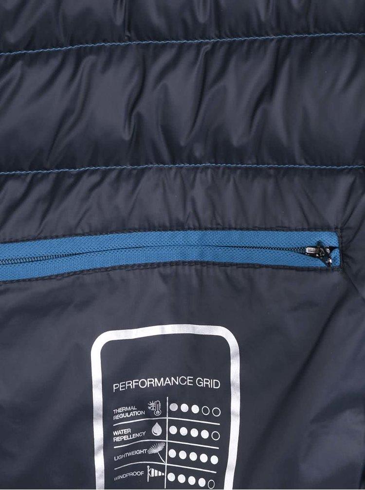 Modrá pánska prešívaná bunda Geox Down