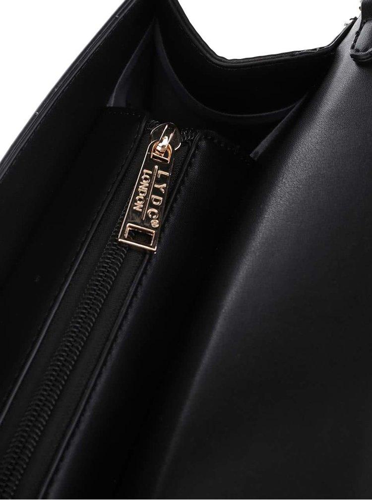 Geantă neagră LYDC cu print