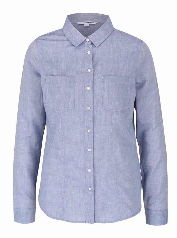 Modrá košeľa TALLY WEiJL