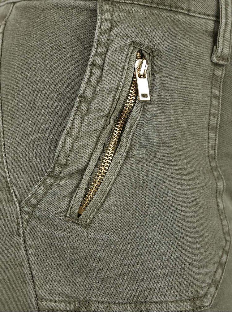Khaki kalhoty TALLY WEiJL