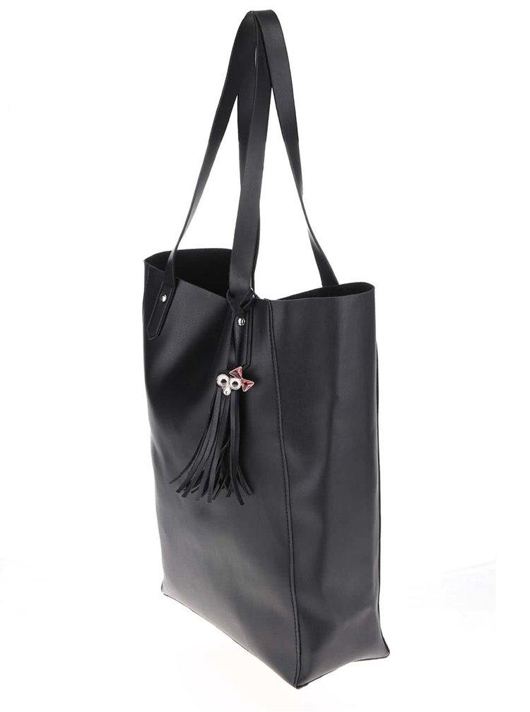 Černá větší kabelka TALLY WEiL
